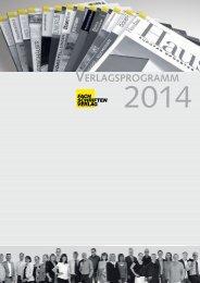 Verlagsprogramm 2014 (Low-PDF) - Fachschriften-Verlag