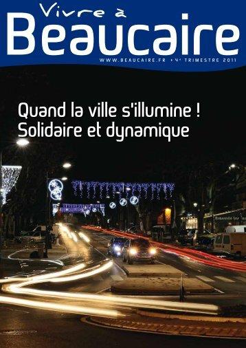 Quand la ville s'illumine ! solidaire et dynamique - Beaucaire