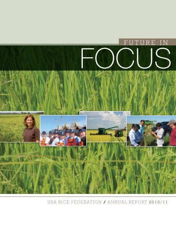 2010-2011 Annual Report - USA Rice Federation