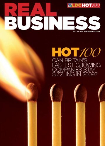 can britainls fastest growing companies stay sizzling in 2009? - LDC