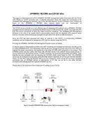 UPSMAN / RCCMD and CS122 intro - Meta System Deutschland