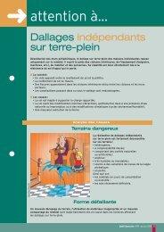 Dallages indépendants sur terre-plein - Agence Qualité Construction