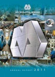 Annual Report - MYCRON Steel Berhad