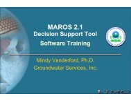 MAROS 2.1
