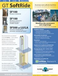 Brochure - Global Tardif Groupe manufacturier d'ascenseurs