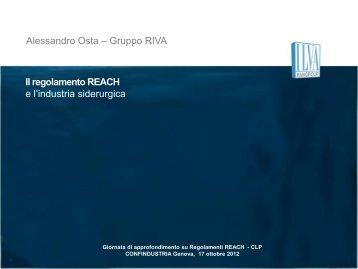 Giornata di approfondimento su Regolamenti REACH