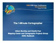 The 1-Minute Cartographer