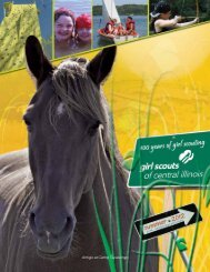Summer Activity Guide - Girl Scouts of Central Illinois