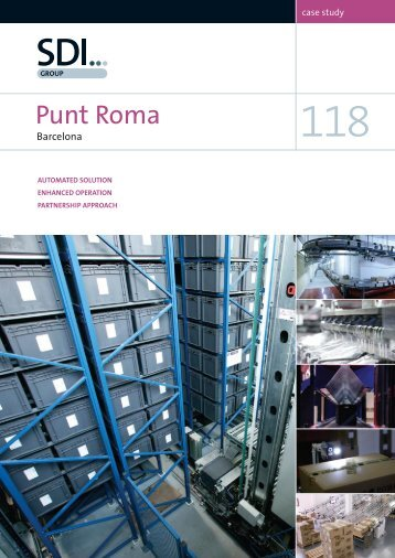 Case Study 118 – Punt Roma, Barcelona, Spain - SDI Group