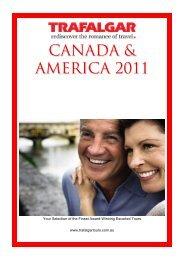 Canada & America 2011 - New Shan Travel