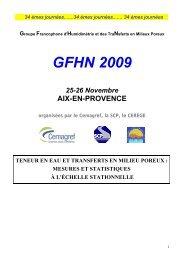 André Frédéric (Agrosphere (ICG-4), Jülich) : Modélisation - Cerege
