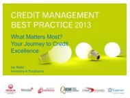 What Matters Most? Your Journey to Credit Excellence - Experian