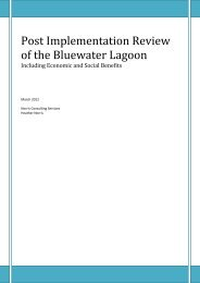 Post Implementation Review of the Bluewater Lagoon - Mackay ...
