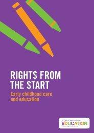 Rights fRom the staRt - Salvati Copiii
