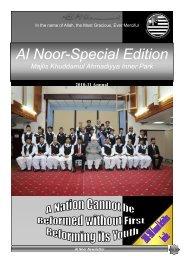 Al Noor-Special Edition - Majlis Khuddamul Ahmadiyya UK