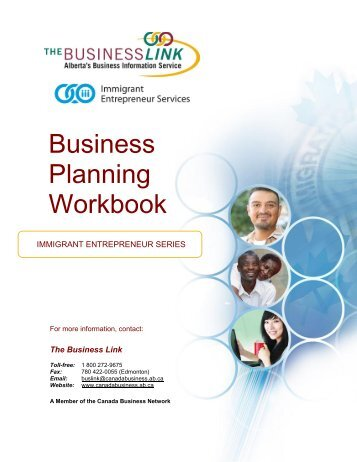 Business Planning Workbook - The Business Link