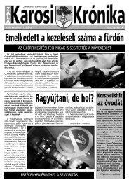 2012. április 19-i szám - Zalakaros