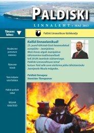 5/13 30.05.2013 - Paldiski Linnavalitsus