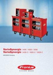 VarioSynergic 3400 / 4000 / 5000 - Fronius