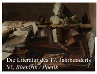 Buch von der Deutschen Poeterey - Literaturwissenschaft-online