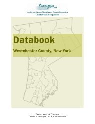 Databook - Westchester County Government
