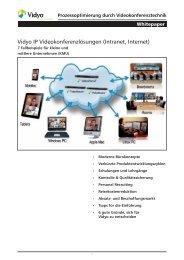 Prozessoptimierung durch Videokonferenztechnik - COMM-TEC