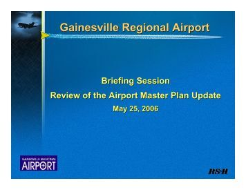 Master Planning - Gainesville Regional Airport