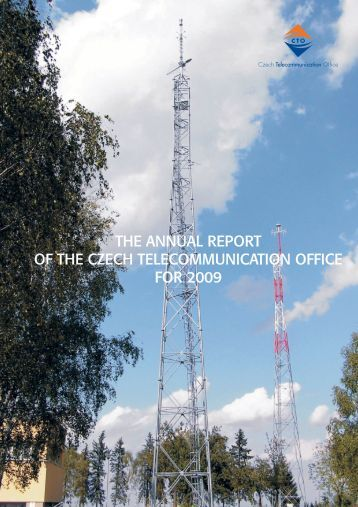 The Annual Report of the Czech Telecommunication Office for 2009