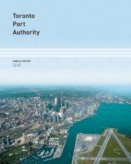 2010 Annual Report - Toronto Port Authority