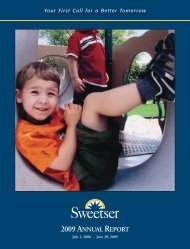 09 Annual Report - Sweetser