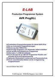 Steuerung über WIN32 DLL - E-LAB Computers