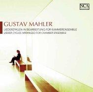 GUSTAV MAHLER - nca - new classical adventure
