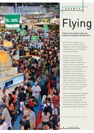 Flying high - ST Electronics