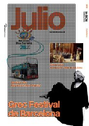 Grec Festival de Barcelona - Turisme de Barcelona
