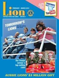 2012 Feb - Lions Australia