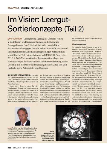 ganzen Bericht lesen - Syscona.de