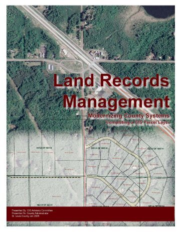 Land Records Management Plan - St. Louis County