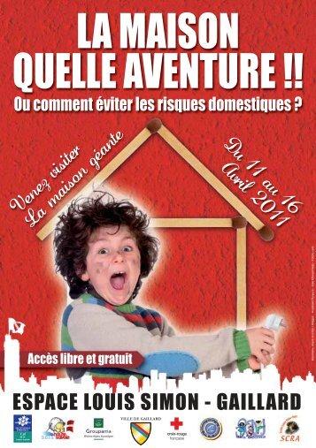 LA MAISON QUELLE AVENTURE !! - Ville de Gaillard
