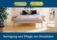 Reinigung und Pflege von Holzböden - Laminate.ch