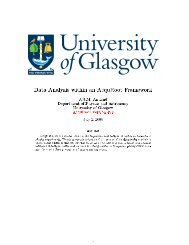 Data Analysis within an AcquRoot Framework - Nuclear Physics ...
