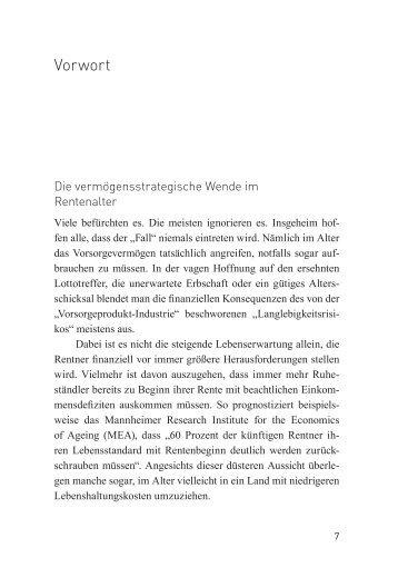 buehler finanzplanung fuer den ruhestand 01 09.indd - Linde Verlag
