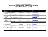 """List of Participants who attended the Workshop on """"Results ..."""