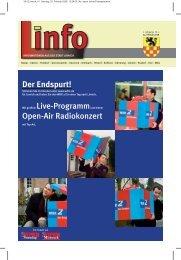 Der Endspurt! Mit großem Live-Programmund einem Open ... - Linnich