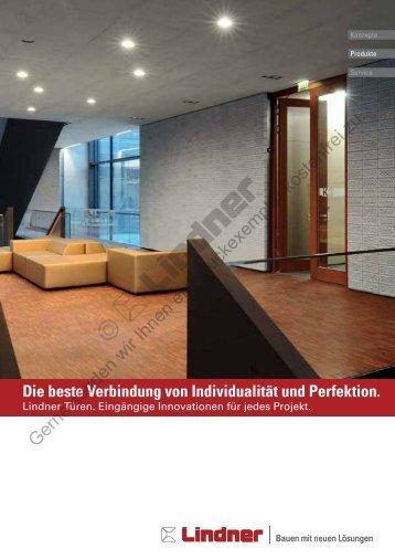 Die beste Verbindung von Individualität und ... - Lindner Group