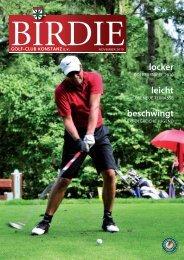 Birdie 2/2010 - Golfclub Konstanz