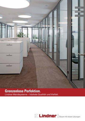 Grenzenlose Perfektion. - Lindner Group