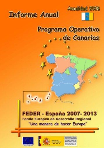 Año 2008 (pdf) - Dirección General de Fondos Comunitarios