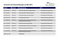 Veranstaltungen Mai - Juli 2013 - Städtische Musikschule ...