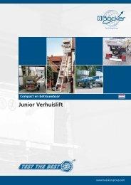 Junior Verhuislift - Böcker