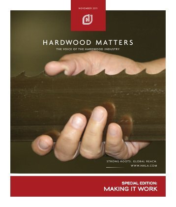 hm - Nov11 - cover.indd - National Hardwood Lumber Association